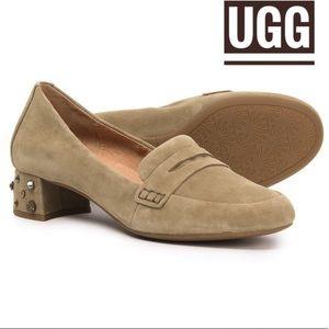 UGG Australia Elise Studded Bling Suede shoe 6.5